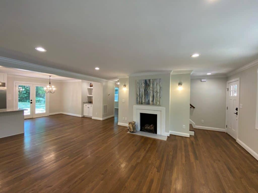 construction living room